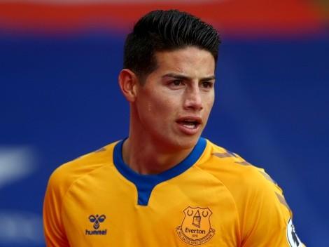James está perto de trocar o Everton por gigante italiano