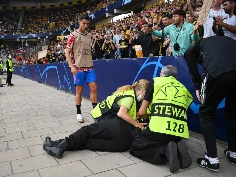 Eita! Mulher que tomou bolada de Cristiano Ronaldo na Champions é brasileira e já discutiu com o craque português; entenda