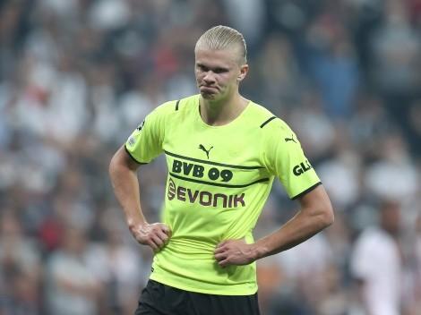 Temendo a saída de Haaland, Borussia pode ir até à Premier League em busca de substituto