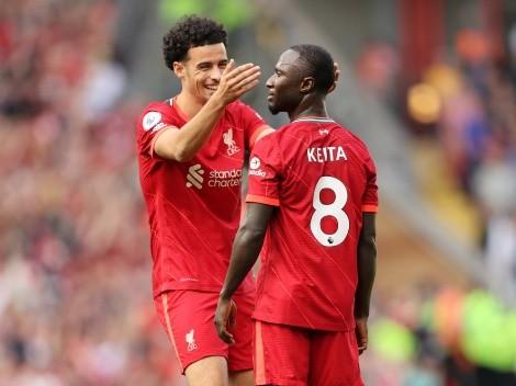 Keita sofre curiosa lesão e pode desfalcar o Liverpool