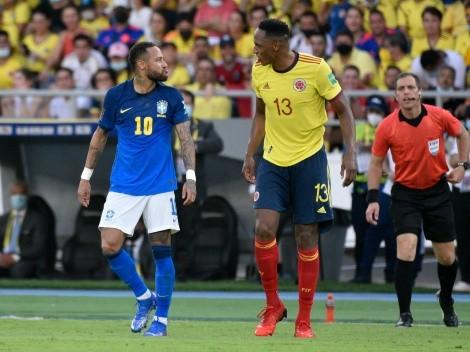 """Galvão Bueno teria chamado Neymar de 'idiota"""" depois de Colômbia e Brasil"""