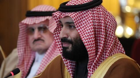 The Crown Prince Of Saudi Arabia Visits The UK