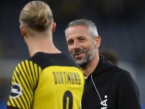 Borussia Dortmund define substituto de Haaland, na mira de gigantes da europa