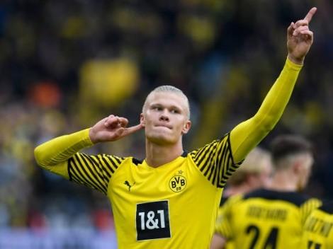 ¿Cuántos goles tiene Haaland en Borussia Dortmund?