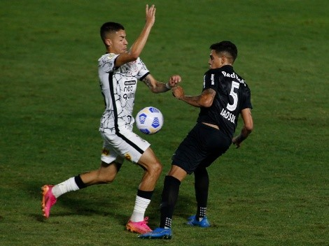 Gabriel Pereira, sensação do Corinthians, entra na mira de gigantes europeus