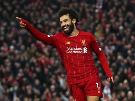 Salah para la historia: Se convirtió en el africano con más goles en Premier League igualando la marca de Didier Drogba