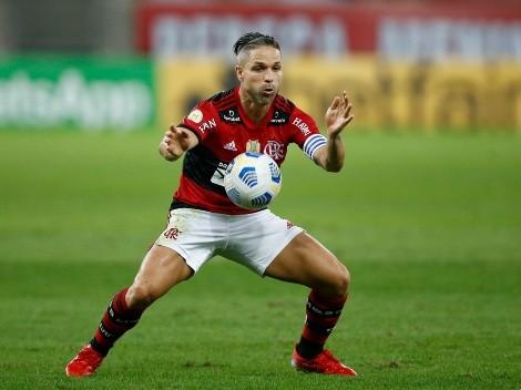Em fim de contrato, Diego entra na mira de gigante brasileiro e pode deixar o Fla