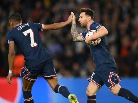 Mbappé explica por que pediu para Messi bater o pênalti