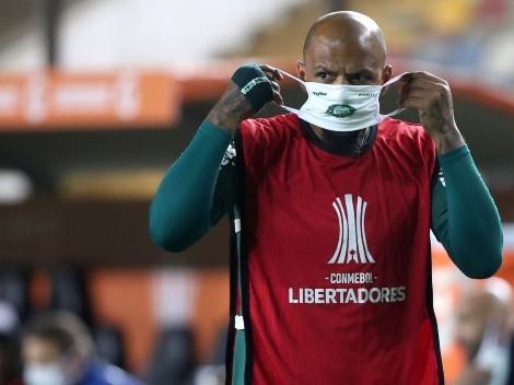 Urgente: Felipe Melo pode deixar o Palmeiras para reforçar clube europeu