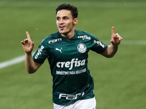 Clube prepara oferta de R$ 67,8 milhões fechar com Rapahael Veiga, do Palmeiras