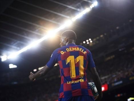 3 clubes disputam a contratação de Dembélé